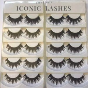 Other - ICONIC Lashes 10 Pairs Bundle Deal